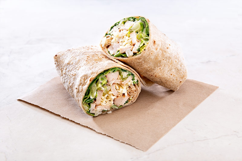 Sonoma Ranch wrap ready to be served
